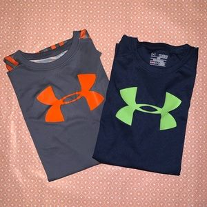 Bundle of Under Armour Boy's XL T-Shirt & Tank Top